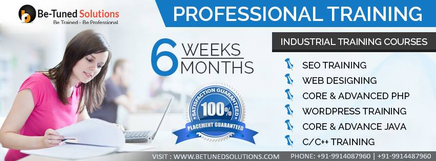 best industrial training chandigarh